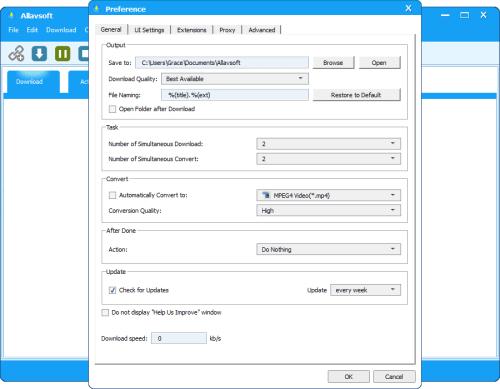 Allavsoft Video Downloader-Converter Patch & Serial Key Tested Free Download