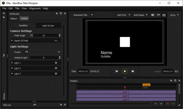 NewBlueFX Titler Pro Ultimate License Key Tested Free Download