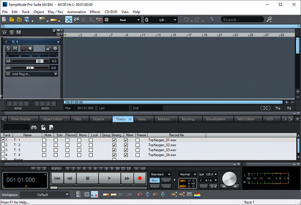 MAGIX Samplitude Pro Suite Patch & Serial Key Tested Full Free Download