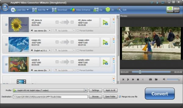 AnyMP4 Video Converter Ultimate 8.2.10 Crack With Key